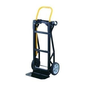 Furniture moving dolly cart hand truck convertible 4 wheel for Furniture hand truck