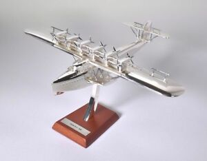 Utile Dornier, Do X, - 1929, Model Aircraft 1/200 Scale. Chrome, Brand, New, With, Woo Haute Qualité Et Bas Frais GéNéRaux