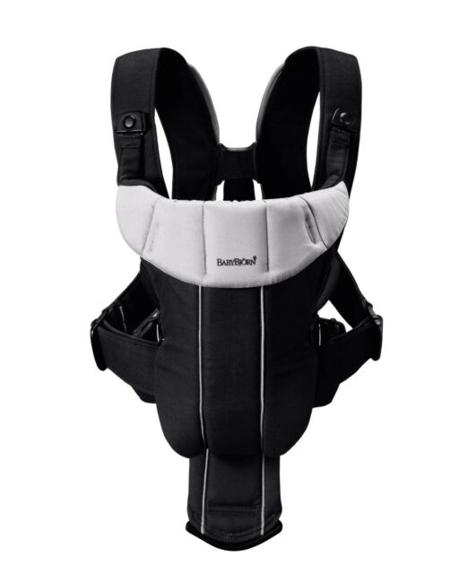 eaae2cec4e0 BabyBjörn Baby Carrier Active Model 026165us Black silver Lumbar ...