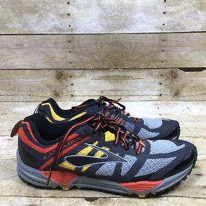 the best online shop lowest discount Details about Brooks Cascadia 11 Trail 1102131D092 Off Road Marathon  Running Shoes Men's 8.5