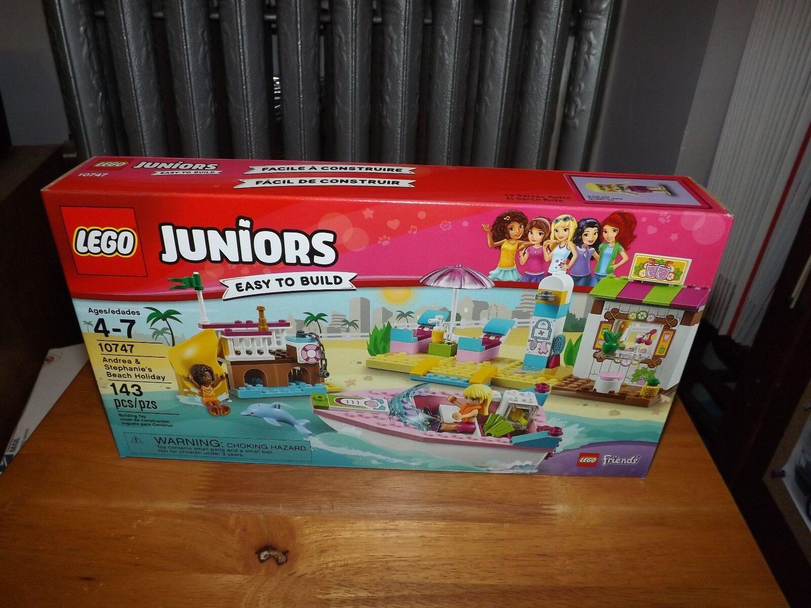 LEGO, JUNIORS, ANDREA & STEPHANIE'S BEACH HOLIDAY, KIT PCS, NIB 2017