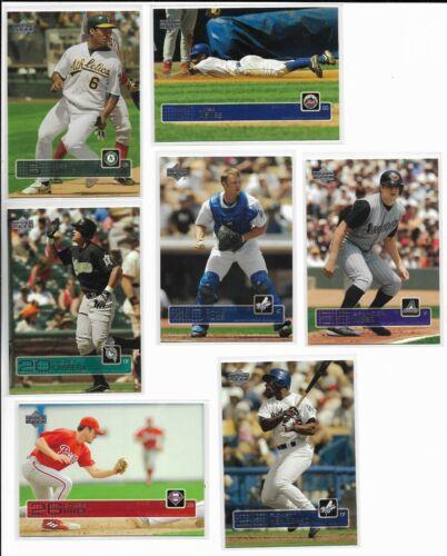 2003 Upper Deck Update PICK-A-CARD Cabrera Utley Haren Webb Ross RCs GOLD Young