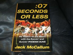 07-Second-or-Less-Autographed-by-Jack-McCallum-JSA-Auction-Certified