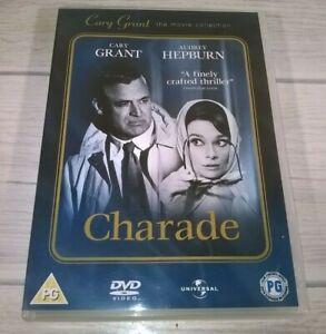 Charade Cary Grant Audrey Hepburn Walter Matthau Genuine R2 DVD VGC