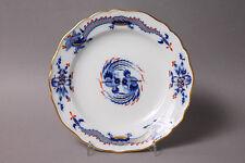 Meissen Reicher Drache Blau Teller Ø 17,5 cm Rot- u. Goldschattiert Pfeifferzeit