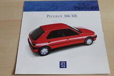 113946) Peugeot 306 XR Prospekt 01/1993