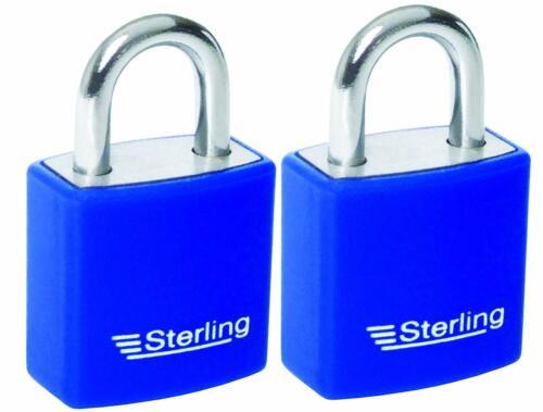 Sterling APL222P 2 x 20 mm Aluminium Cadenas Multi Pack Keyed Alike x 1