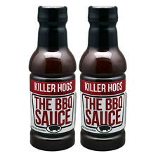 Killer Hogs The BBQ Barbecue Sauce 18oz (2 Pack)