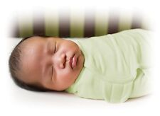 New Baby SwaddleMe Wrap Swaddle Blanket Small Cotton Sage