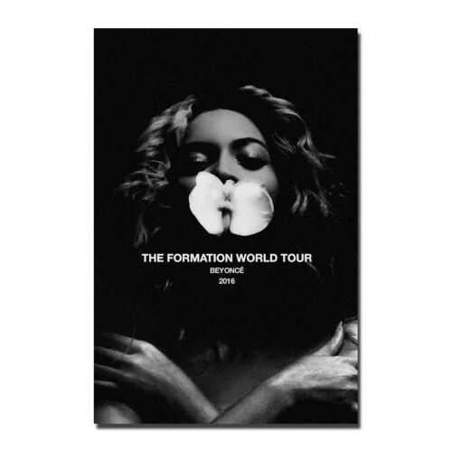 Hot New Beyonce World Tour Music Star Singer Art Silk Poster 13x20 24x36 inch