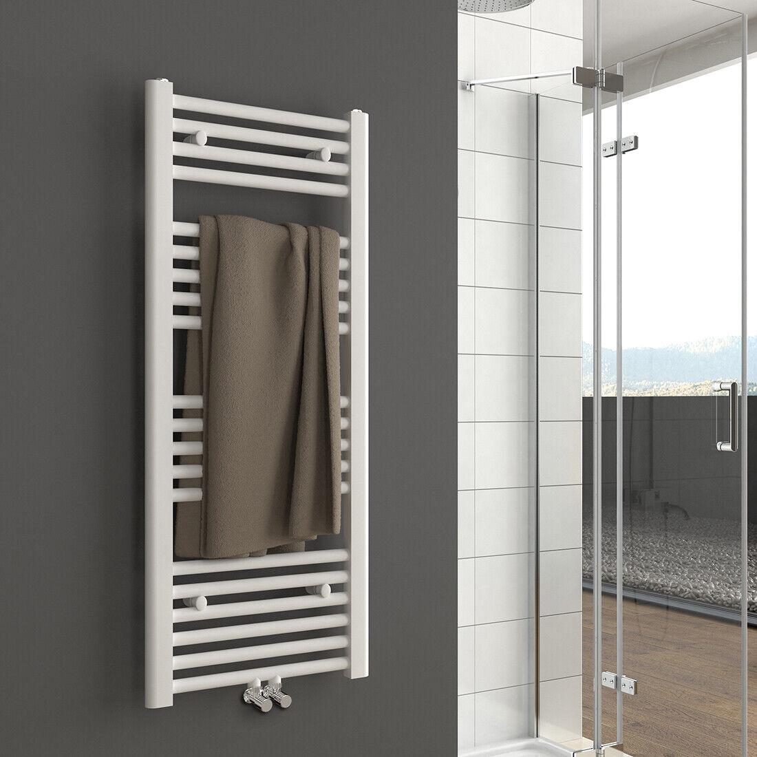 Handtuchwärmer Grünikal Handtuchheizkörper Badheizung  Weiß 1000x400mm