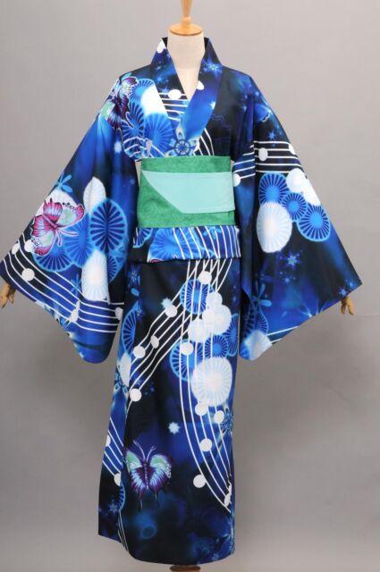 Vocaloid Hatsune Miku Project DIVA Yukata Kimono Miku Cosplay Girl Costume
