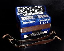 RARE ELECTRONIC BUTTON TOP ACCORDION BAYAN RITM (RYTHM)~USSR~EXCELLENT CONDITION