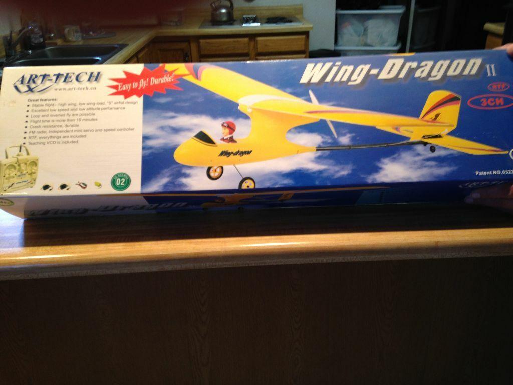 nuovo R C Art Tech  Wing Dragon II Trainer RTF Version  prezzo basso