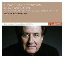RUDOLF BUCHBINDER - KULTURSPIEGEL:DIE BESTEN GUTEN-KLAVIERSONATEN 8,26  CD NEU