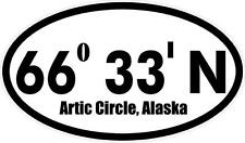 "#975 (1) 4.5"" ADV Dual Sport Arctic Circle Motorcycle  Decal Sticker Laminated"