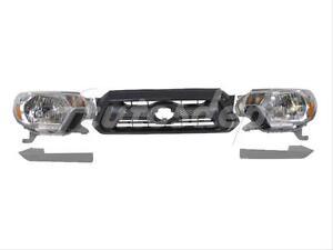 For 2012-2015 Tacoma Front Bumper Filler Headlight Lower Filler Trim Lh