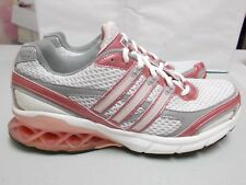 27ba5e6fd56b ADIDAS Boost G03612 Women s White Pink Gray Running Shoes w  AdiWear Size 7