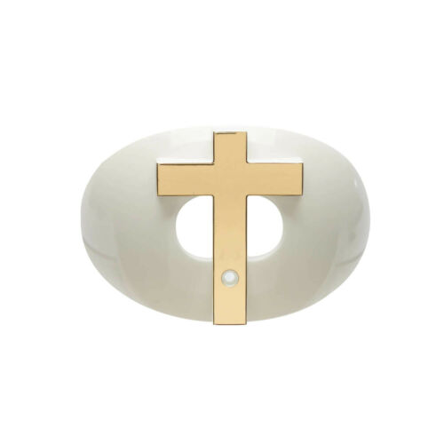 Battle Sports Science 3D Chrome Cross Oxygen White//Gold White//Gold 12MGX01009