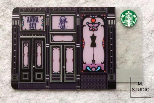 2015 China Starbucks coffee Anna Sui gift card