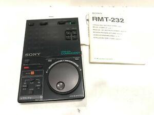 Sony RMT-232 vintage Remote Control   Fernbedienung + Anleitung  TOP ZUSTAND