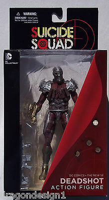 "DC Suicide Squad DEADSHOT 7/"" DC Direct NEW *Damaged Box"