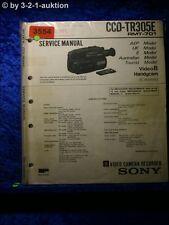 Sony Service Manual CCD tr305e (#3554)