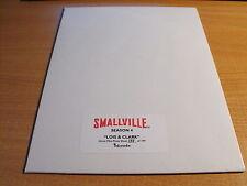 SMALLVILLE SEASON 4 UNCUT SHEET OF LOIS & CLARK 138/199