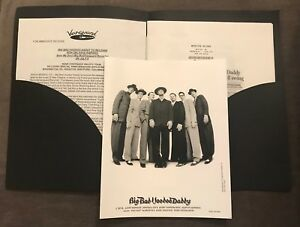 Details About Big Bad Voodoo Daddy Save My Soul Publicity Photo Press Kit Vanguard Records