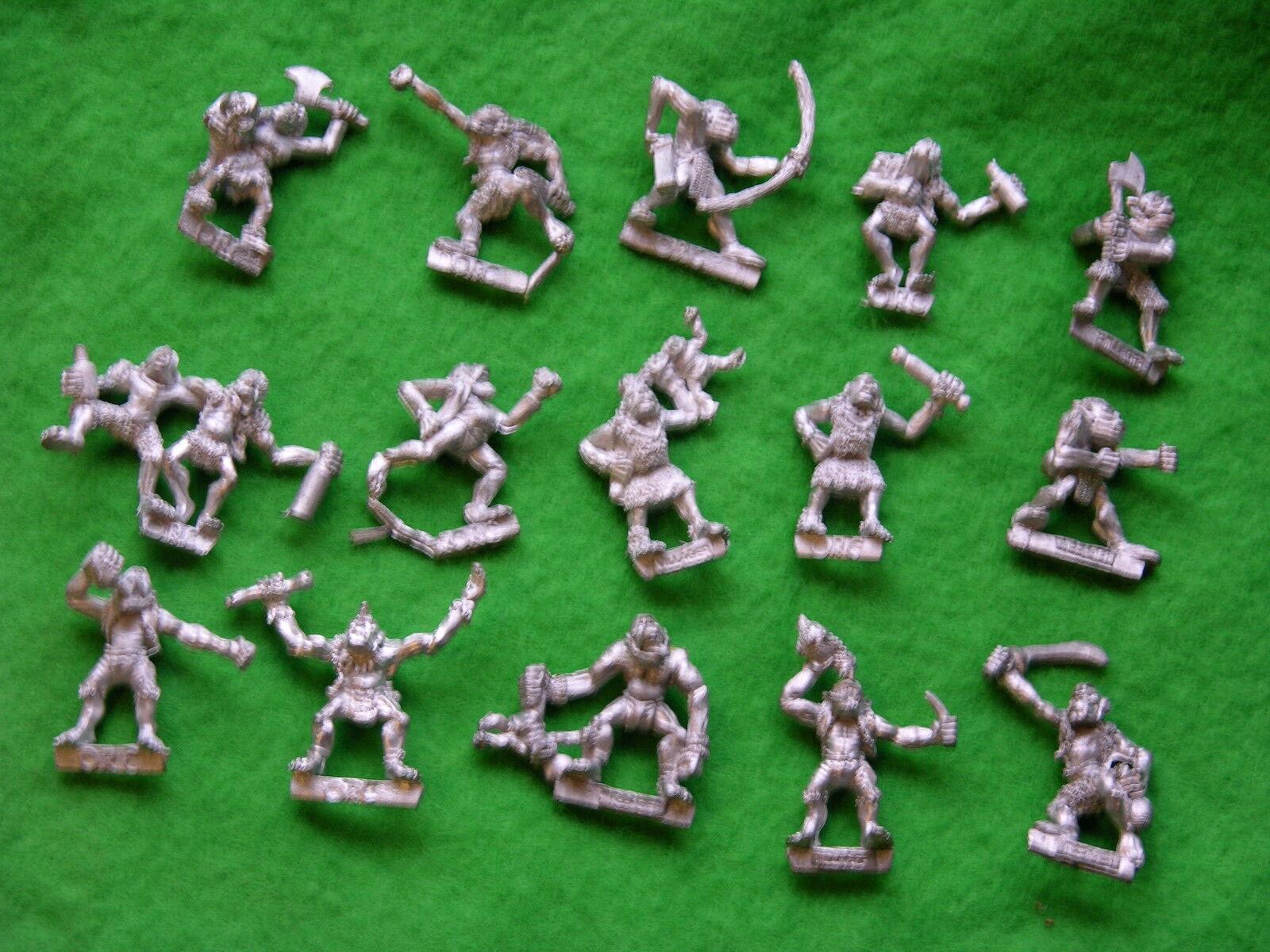 Multi-listing, warhammer, orc dorfbewohner varianten