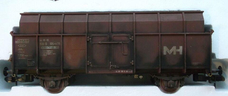 Modeltog, Märklin - Max Hütte - 3 vognssæt SPOR1 5875, skala