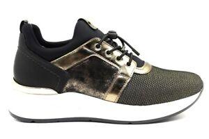 Dettagli su Nero Giardini A908892D Nero Sneakers Scarpe Donna Calzature Comode