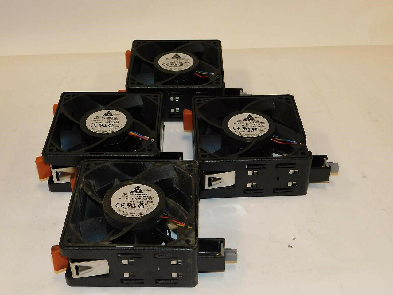 Dell 0R836J Redundant Cooling Fan Assembly PowerEdge T710 Y847J R836J