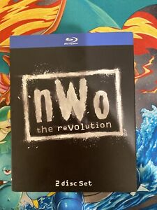 WWE-NWO-The-Revolution-Blu-ray-Disc-2012-2-Disc-Set-WWF-WCW-RARE-OOP