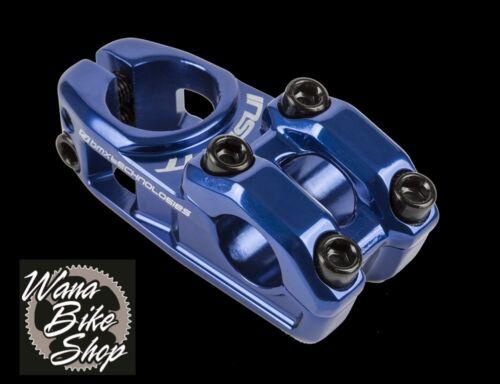 Insight BMX 1-1//8/' Forged 6061 Alloy Stem 53mm Length Blue