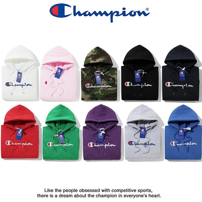 New Women Classic Champion Hoodies Hooded Sweatshirts Outwear