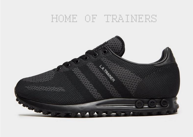 Adidas Originals LA Tissé Noir De Sport Hommes Toutes Les Tailles Limited Stock