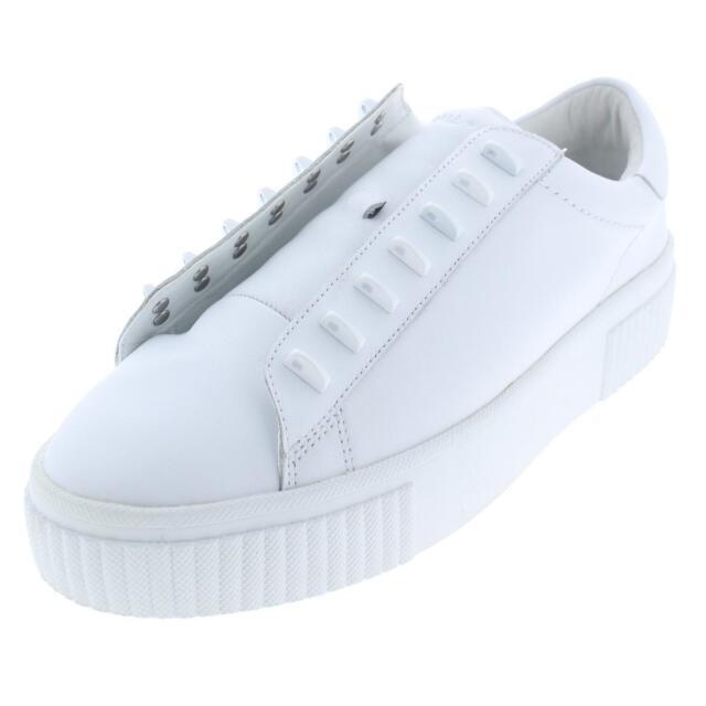 806029d9f Kendall + Kylie Womens Reese White Fashion Sneakers 9 Medium (B,M) BHFO