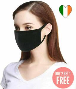 Face-Mask-Covering-100-Cotton-Unisex-Washable-Reusable-x-3