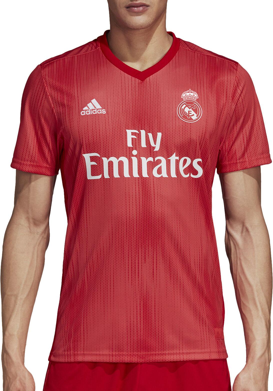 732843aff33 Adult S adidas Real Madrid Third Shirt 2018-19 Sergio Ramos 4 Badges ...