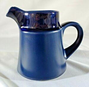 Noritake Primastone  Genuine Stoneware Spinnaker Creamer Dark Navy Blue