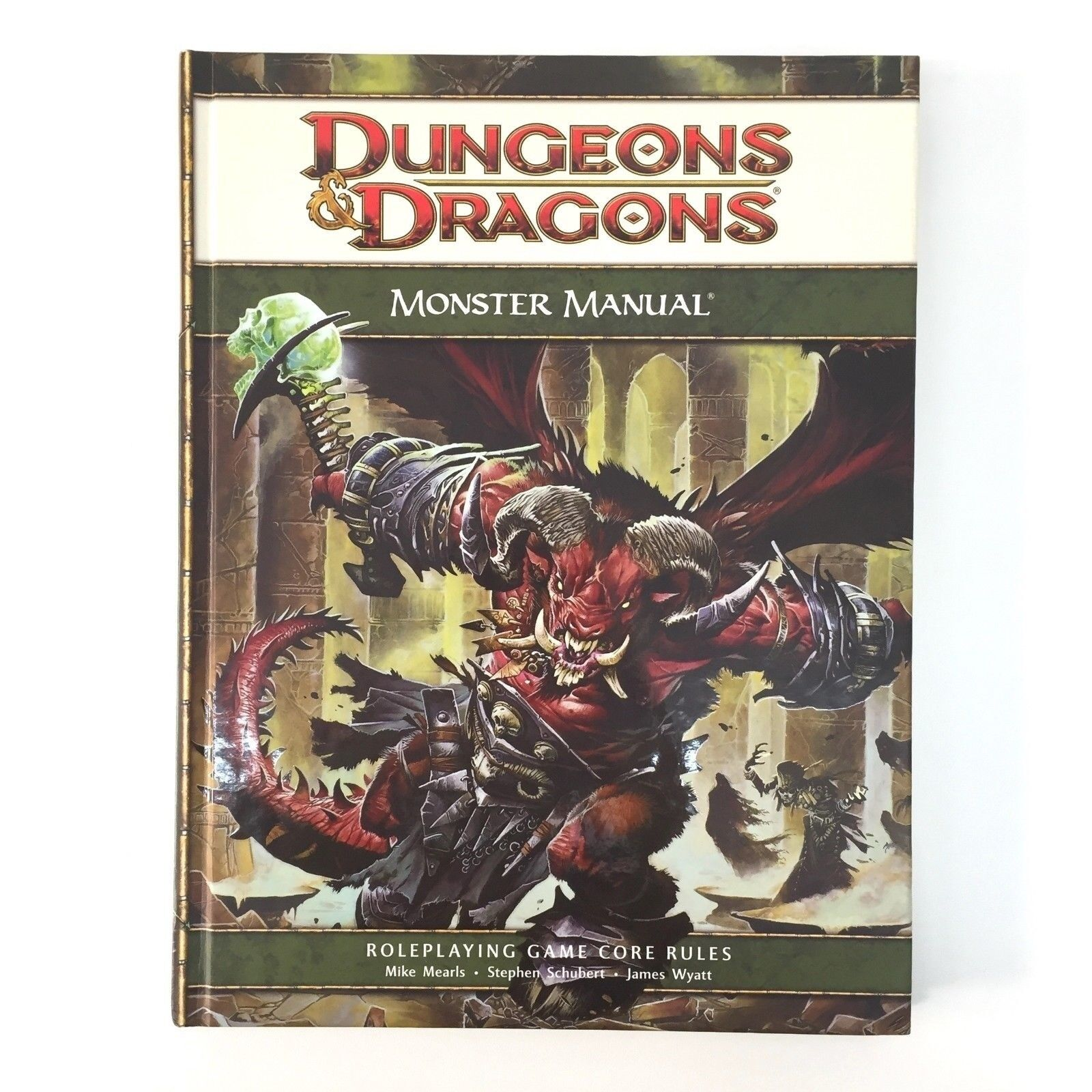 Montruo handbuch calabozos y dragones tapa dura magos rpg d20 wotc tsr rpg