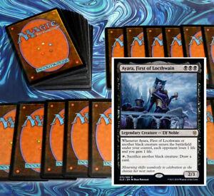 mtg-BLACK-AYARA-DEMONS-DECK-Magic-the-Gathering-rare-60-card-piper-of-the-swarm