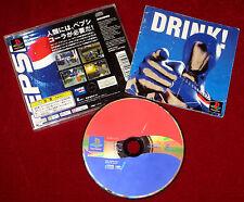 PS1 Game PEPSIMAN NTSC-J Japan Import PlayStation Pepsi Man