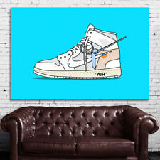 #02 Sneakers Air Shoes Hypebeast Culture 40x60 inch More Sizes Large Poster