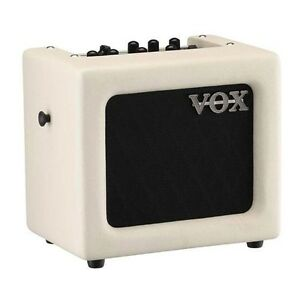 Vox-MINI3-G2-Modeling-Guitar-Amplifier-Amp-5-Inch-Speaker-Ivory-w-FX-Effects