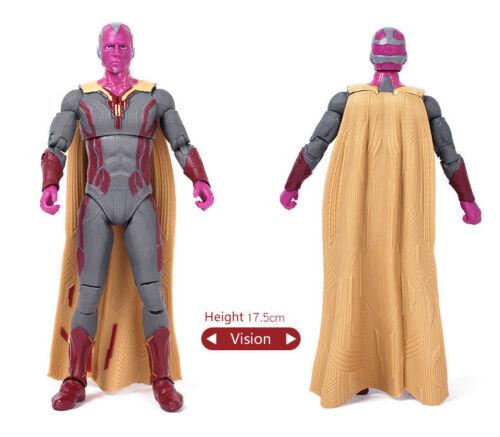 "Kids Toy Marvel Avengers Endgame Iron Man Spiderman Captain 7/"" PVC Action Figure"
