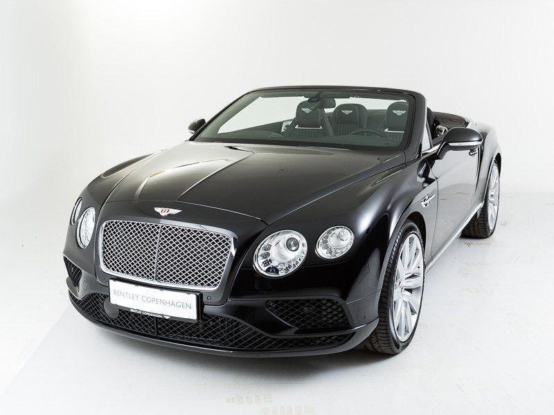 Bentley Continental GT 4,0 V8 Convertible aut. 2d