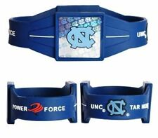North Carolina Tarheels Power Force Ion Wrist Band (NEW) UNC Bracelet - Medium