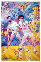 Leroy Neiman Poster racquetball Vintage Poster Sports Make An Offer